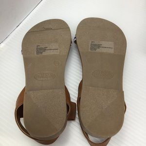 Steve Madden Shoes - Steve Madden JDell Cognac Multi-Colored Sandals